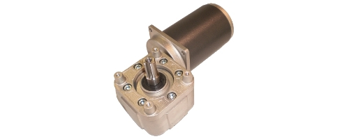 DC Gearmotors orthogonal axes