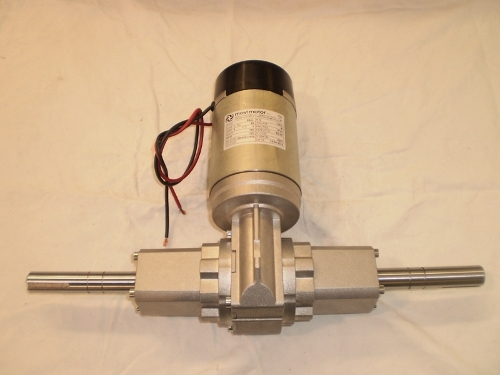 DC Gearmotors orthogonal axes with differential gear